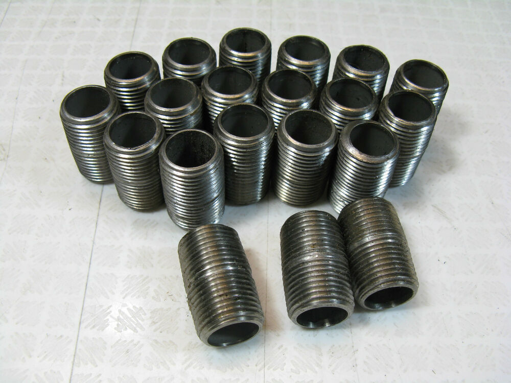 Pieces close nipples quot male npt fitting stainless