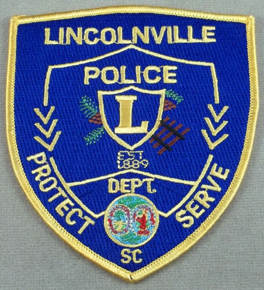 Law Enforcement Patch Lincolnville Police South Carolina