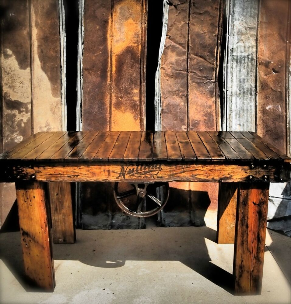 Vintage Lineberry / Railroad Cart Industrial Rustic