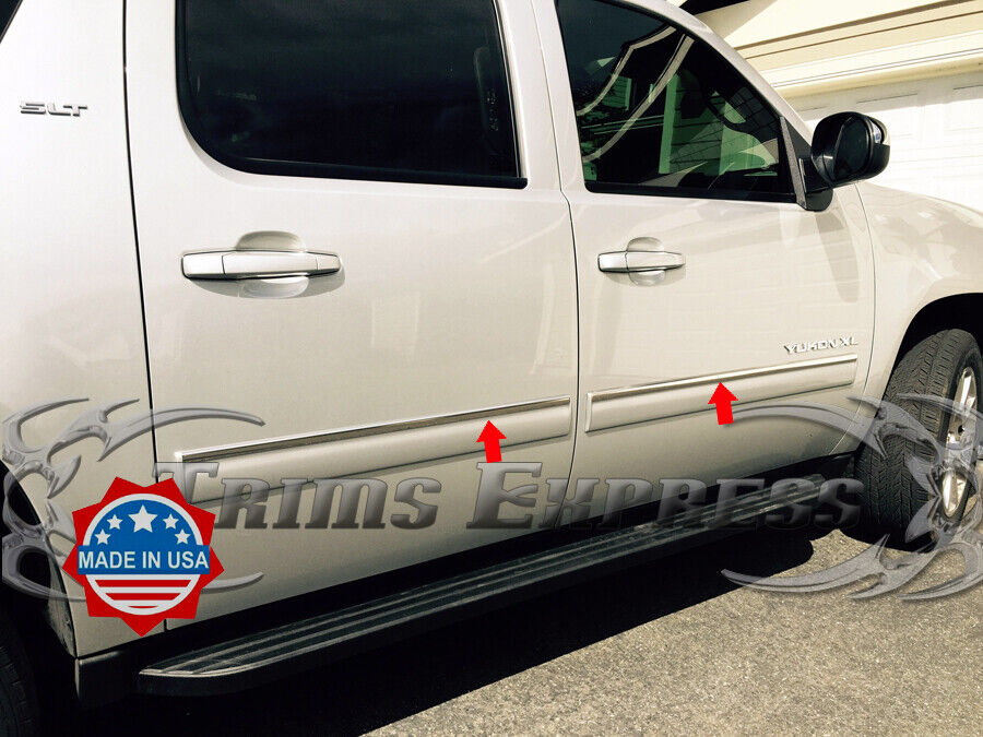 """Pictures Of Chevy Avalanche Truck >> 2010-2014 Chevy Avalanche/Suburban/Yukon XL Top 1"""" Body Side Molding Overlay 