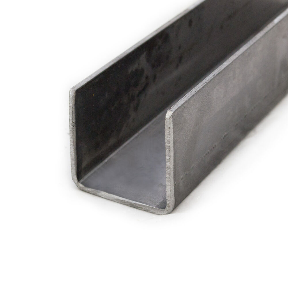 Mild Steel Pressed Steel Channel 40mm X 40mm 3mm Thick