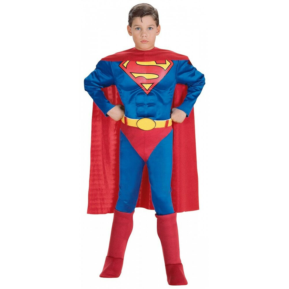 Let him become the Green Goliath or the Caped Crusader in one of our boys' superhero costumes! Our costumes come in sizes from infant to teen. Some of them have padded chest and shoulders, to give the look of a buffed physique.