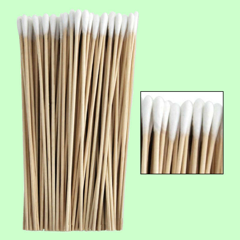 Cotton Swabs Swab Q Tips 6 Quot Extra Long Wood Wooden Handle