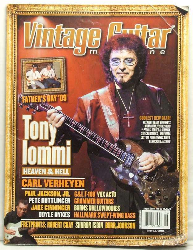 Did Vintage gutiar magazine exclusively your