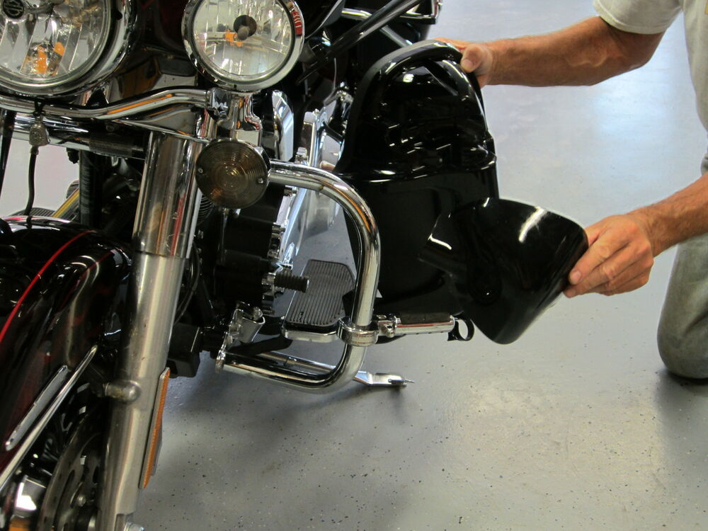 How To Lower A  Harley Davidson Softail
