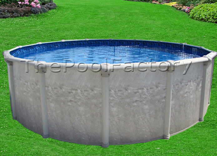 21x52 round value package above ground swimming pool for Above ground pool packages cheap