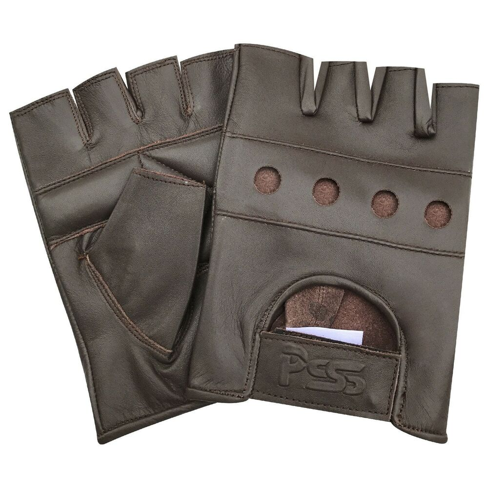Dam Leather Weight Lifting Gym Gloves Real Leather Women S: Soft Leather Fingerless Men Weight Training Cycling