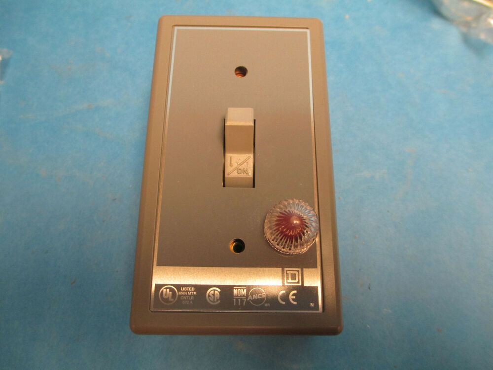 Square d motor starting switch 2510kg1a series a new for Square d motor switch
