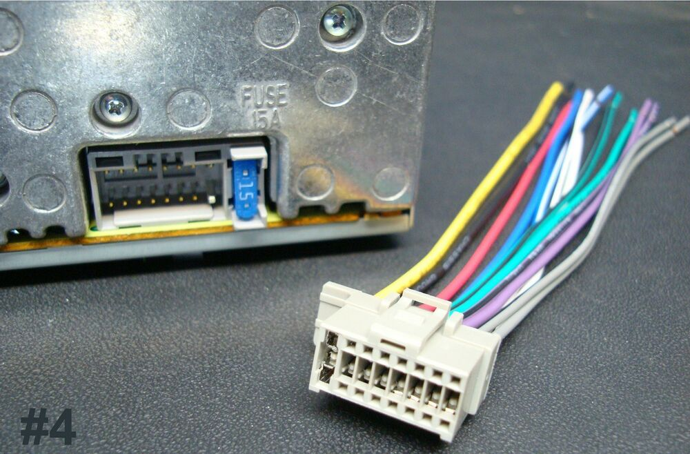 panasonic car audio and video wire harness | ebay,Wiring diagram,Wiring Diagram Panasonic Cq C1333U Car Radio