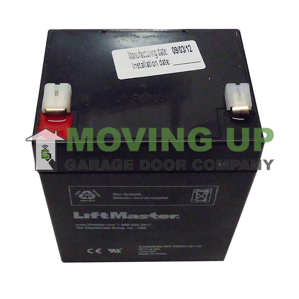 Genuine Liftmaster 485lm Integrated Battery Backup 3850