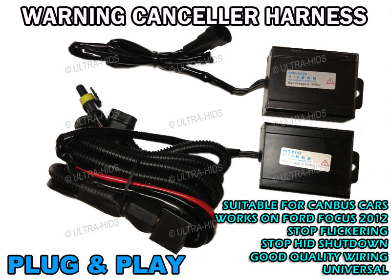 Ford Focus 2012 Relay Harness Canbus H7 Hid Xenon Conversion Kit  Bmw 5 F10