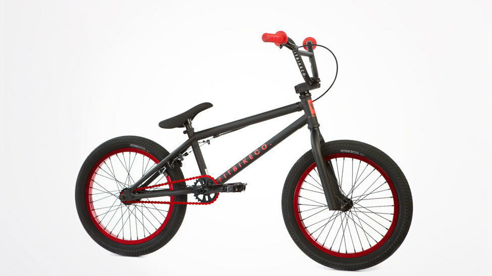 Fit 2013 Pk 18 Inch Complete Bike Black Red Bmx 18 Quot Small