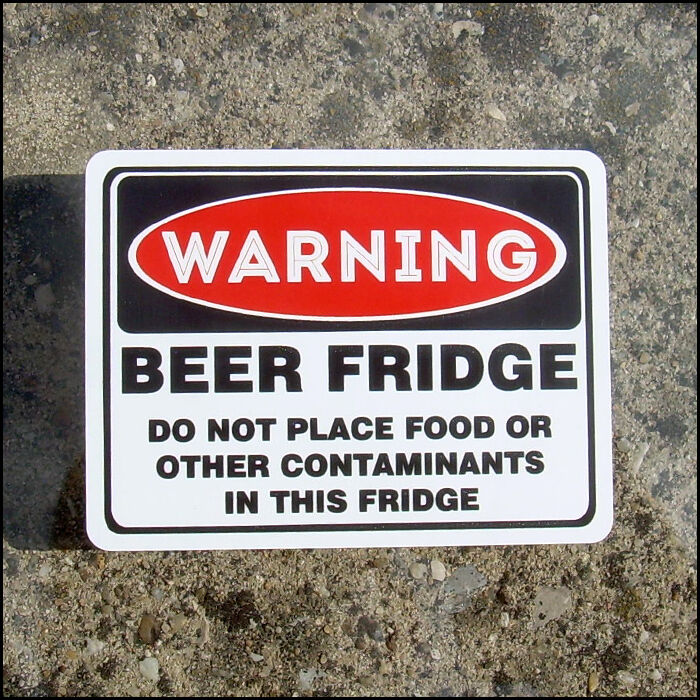 It is a picture of Exhilarating Funny Beer Warning Labels