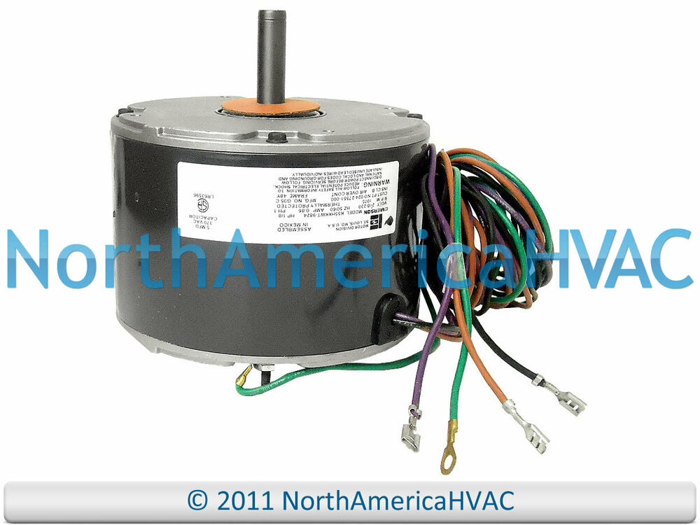 emerson york coleman condenser fan motor 1 8 hp 208 230