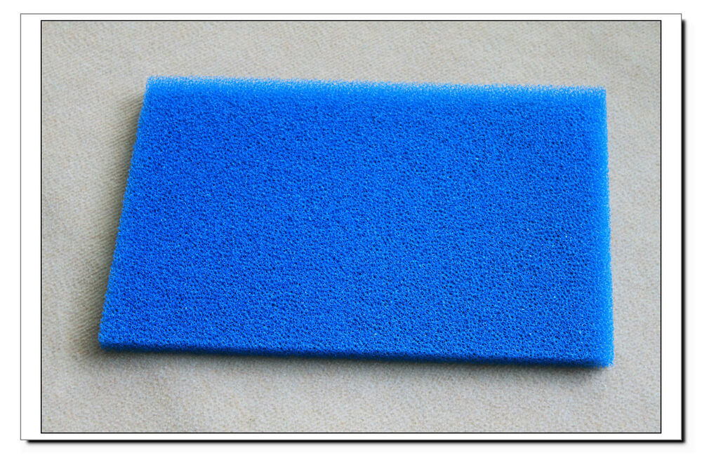 New 18 x12 diy coarse course foam sheet filter pad for Diy filter media