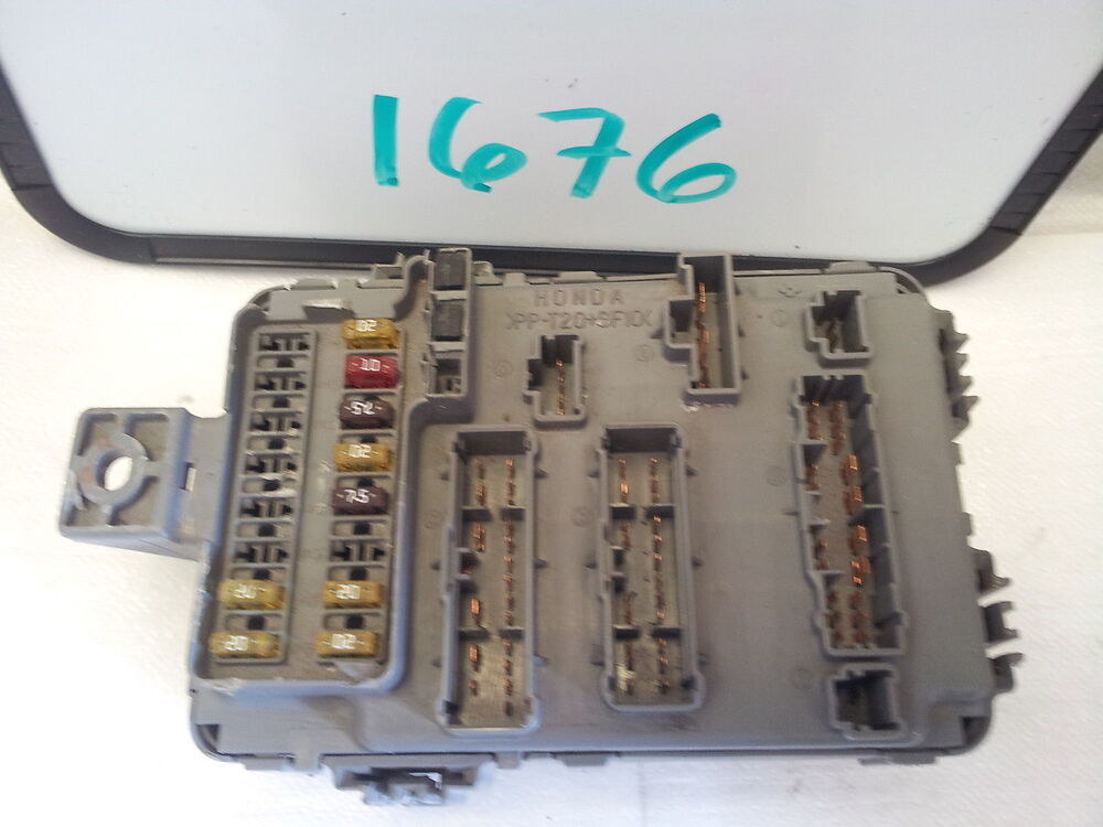 98-02 honda accord 38850- s84-a000m1 multiplex fuse box ... 1991 honda accord fuse box 98 honda accord fuse box