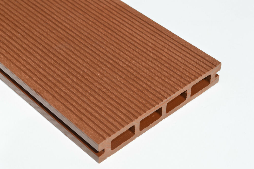 Caravan Decking Wpc Board Brownish Red 150mm X 25mm X 2