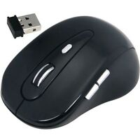 Daffodil WMS320B - Wireless Mouse - 5 Button with Adjustable DPI and Scrollwheel