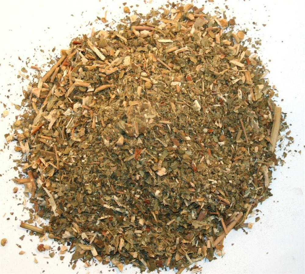 Oz Native Plants: 4 Ounce RED SUMAC LEAVES Dried Organic Smoking Mix Native
