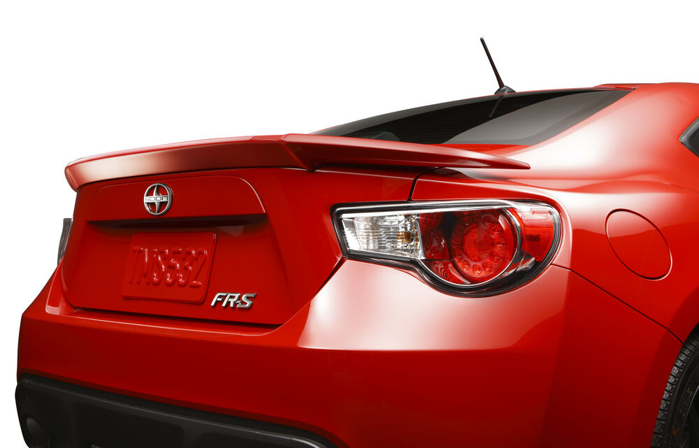 Details About Toyota 86 Scion Fr S Rear Trunk Deck Lid Spoiler Template Genuine Oem Oe
