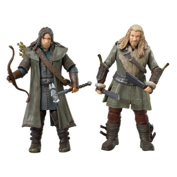 KILI & FILI - THE HOBBIT 3.75 INCH ACTION FIGURE ADVENTURE ...