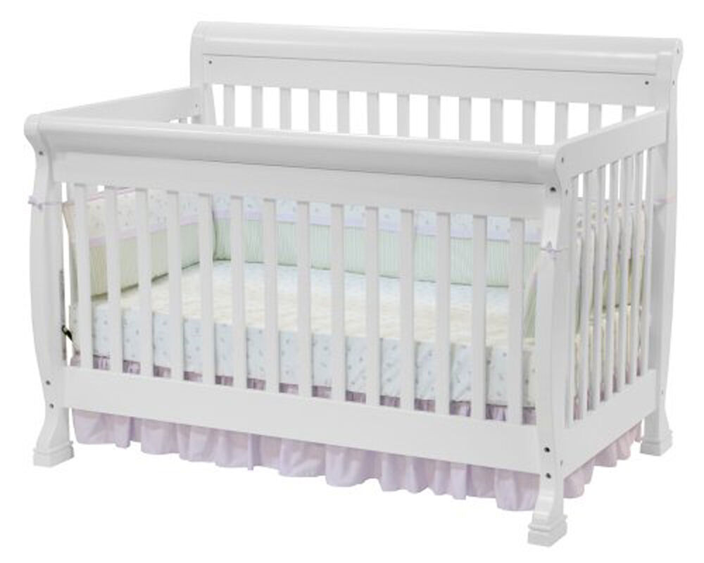Davinci kalani convertible crib 4 in 1 toddler rail wood for Baby furniture