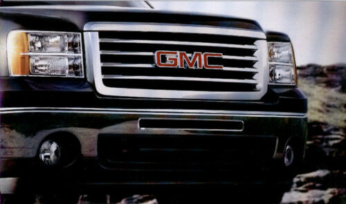 2014 Yukon Denali >> 2007-2008 GMC Denali - All Terrain Chrome Grille - GM # 22761791 | eBay