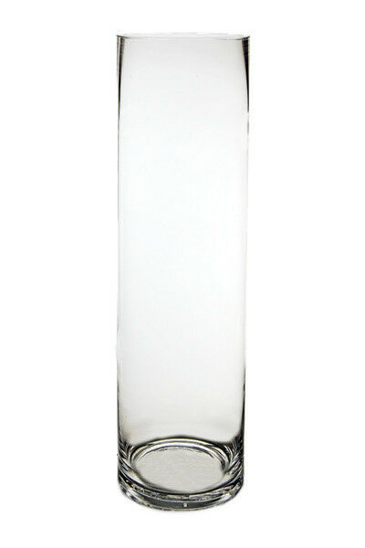 Cylinder vase glass vases wholesale h quot open diameter
