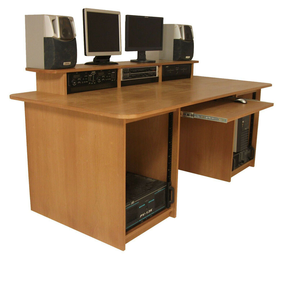 Producer Workstation Studio Desk Furniture 19 Quot Rack