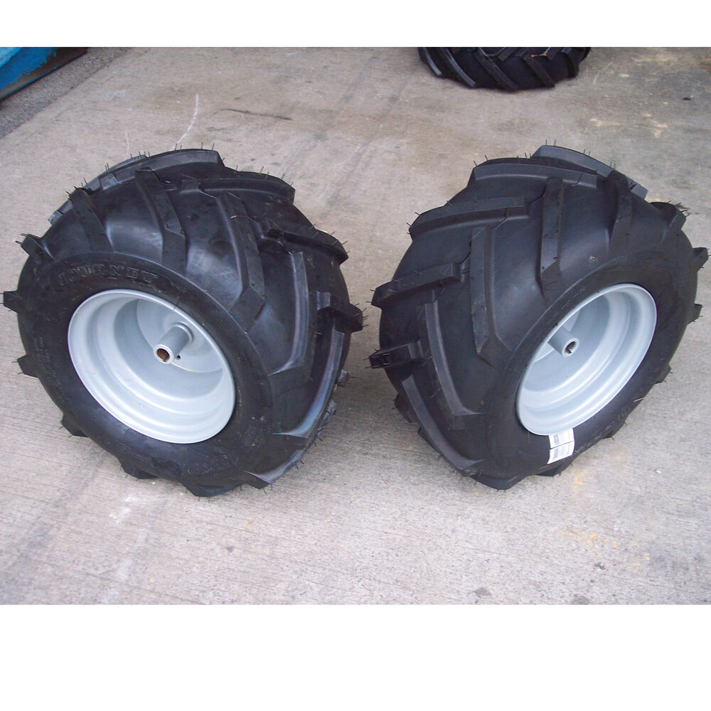 Tractor Wheel Rims : Tires rims wheels assembly garden tractor riding