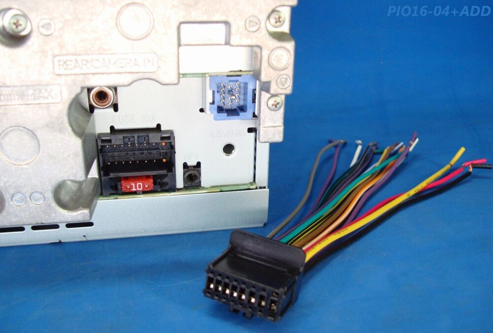 Pioneer Tv Radio Plug Dvd Stereo Harness Avh P3200dvd