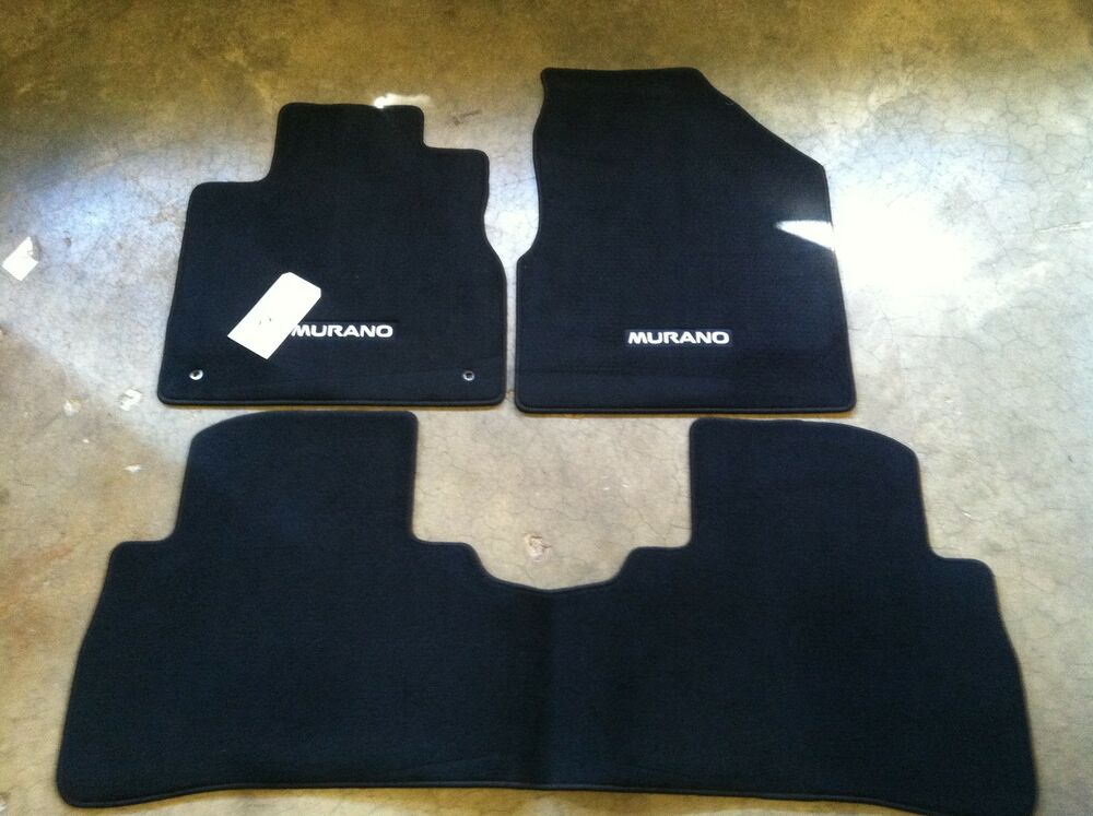 Oem Nissan Maxima Black All Weather Rubber Floor Mats