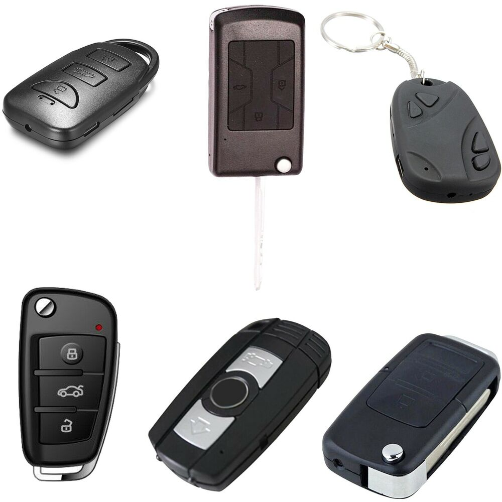full hd spy camera dvr in car key fob remote with motion detection night vision ebay. Black Bedroom Furniture Sets. Home Design Ideas