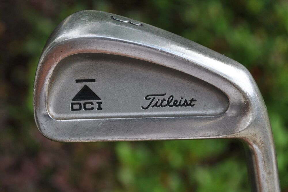 titleist dci 962 no number 3 iron tri spec steel shaft ebay. Black Bedroom Furniture Sets. Home Design Ideas