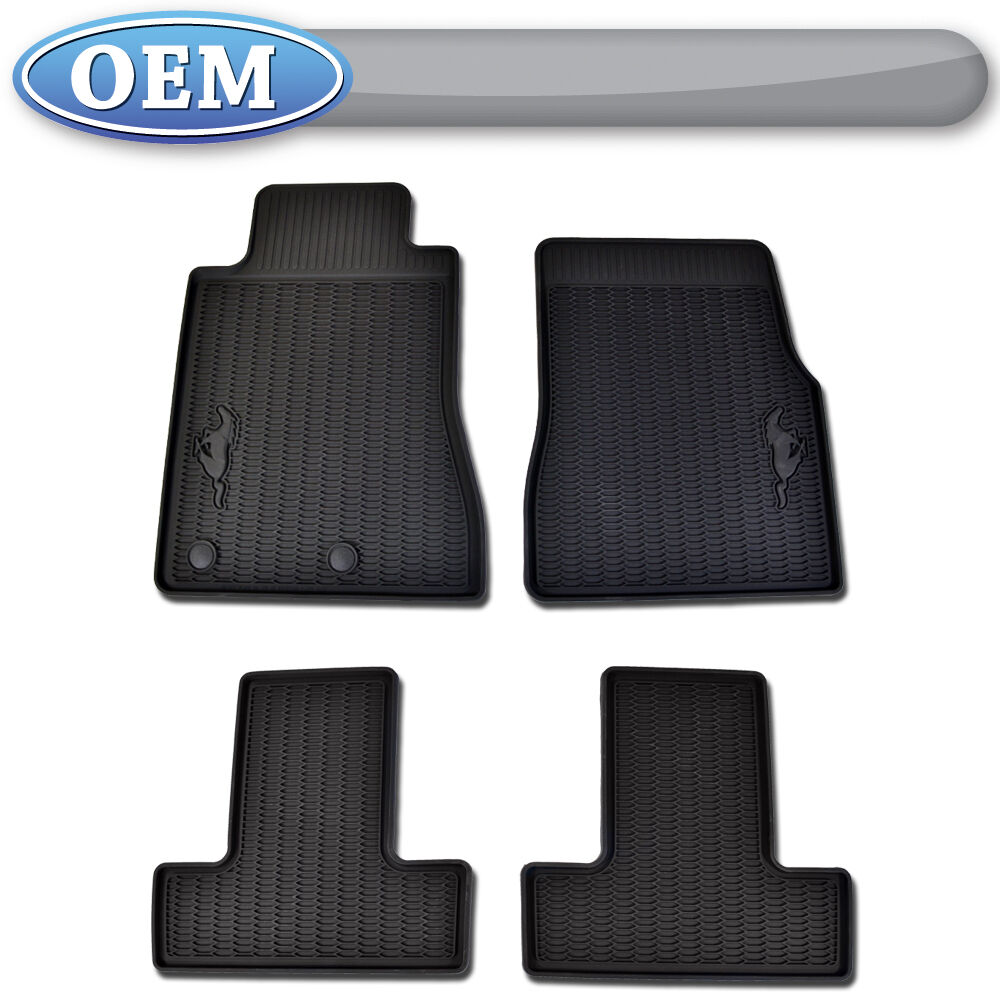 Oem New 2010 Ford Mustang All Weather Vinyl Floor Mats