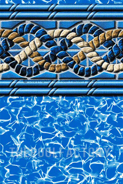 54 uni bead above ground swimming pool liners 25 gauge mystri gold choose size ebay for Above ground swimming pool liners