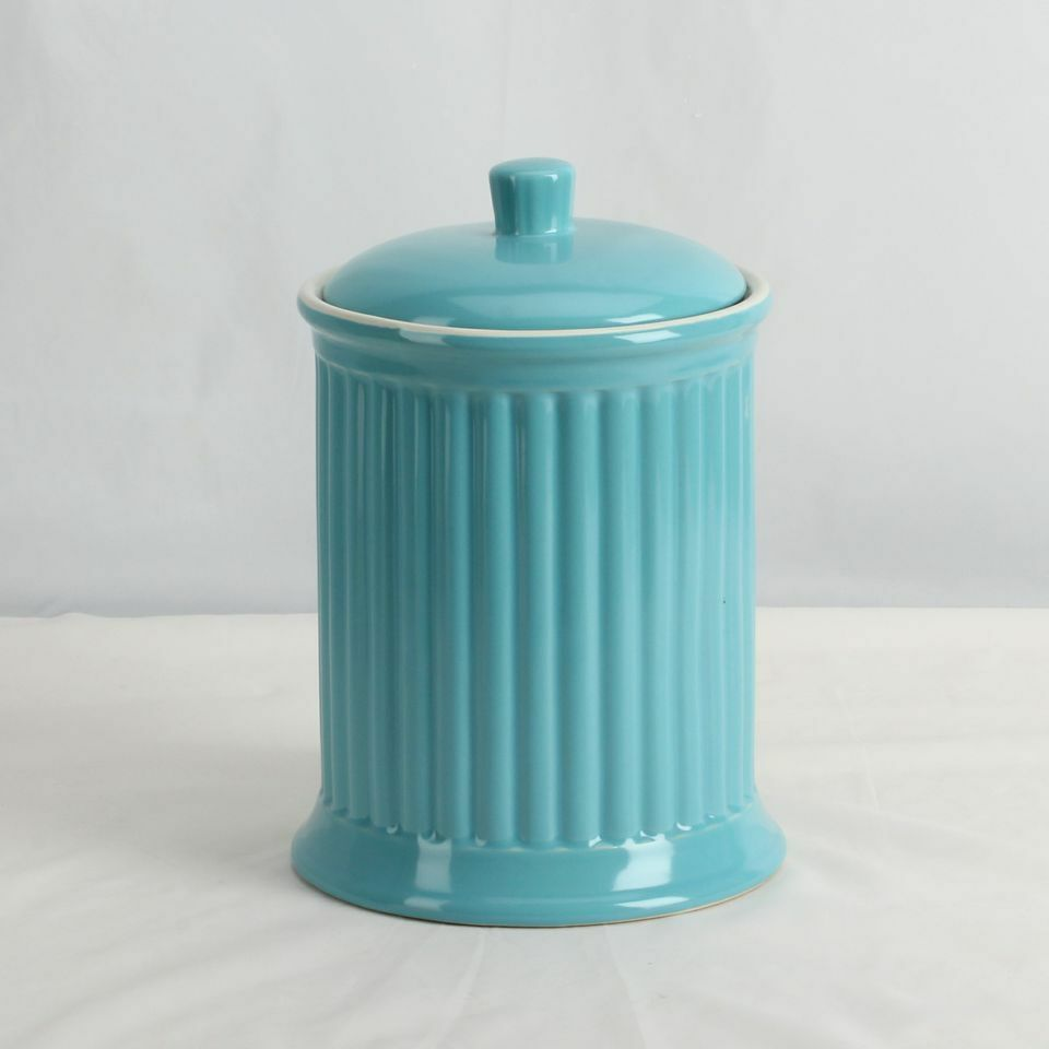 Simsbury Extra Large Ceramic Canister Cookie Jar 7 Various Colors New Ebay
