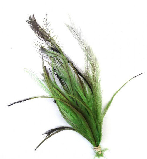 Emu feathers bunch feather craft millinery fly fish for Fly fishing feathers