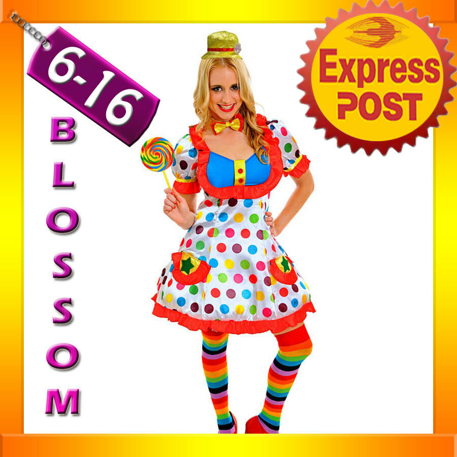 J79 adult funny clown costume circus carnival fancy dress birthday party outfit ebay - Carnival theme party for adults ...