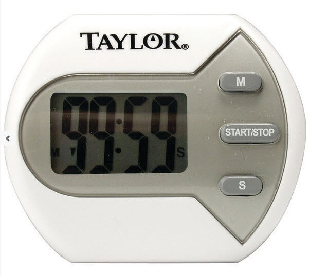 """Taylor Classic Big Digit Timer For Kitchen 0.7"""" Display"""
