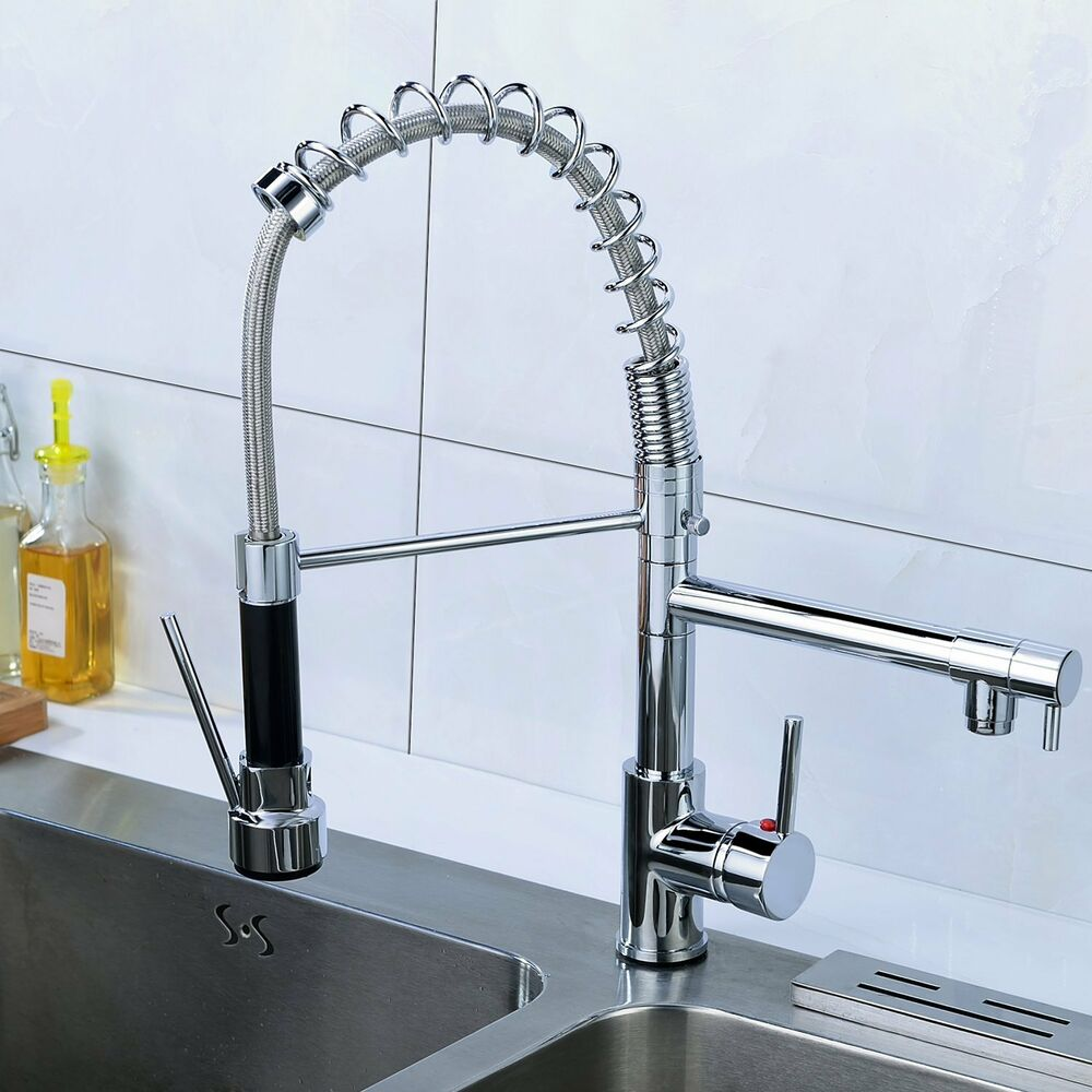 Kitchen Swivel Mixer Taps