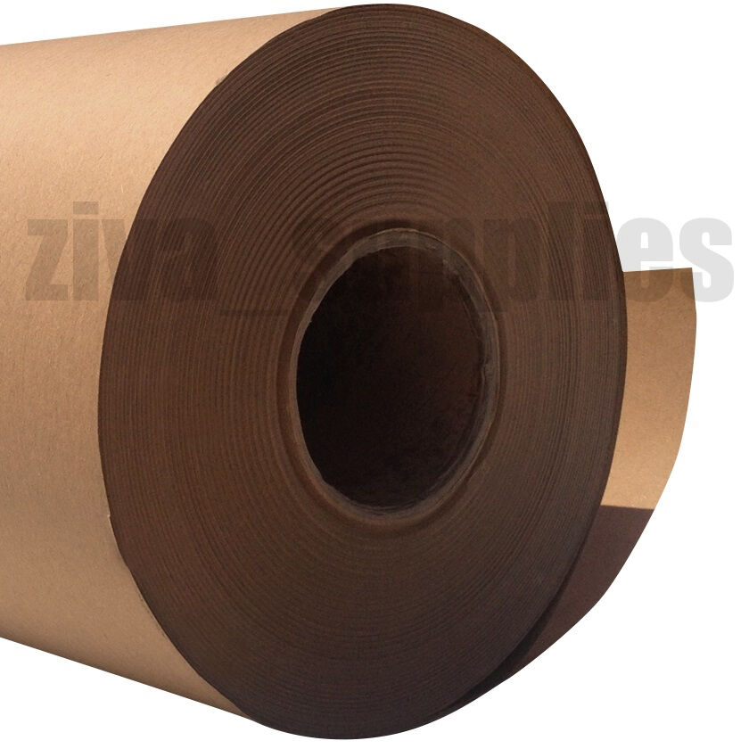 Brown kraft wrapping paper 500mm roll 50 100 225m heavy for Brown craft paper rolls