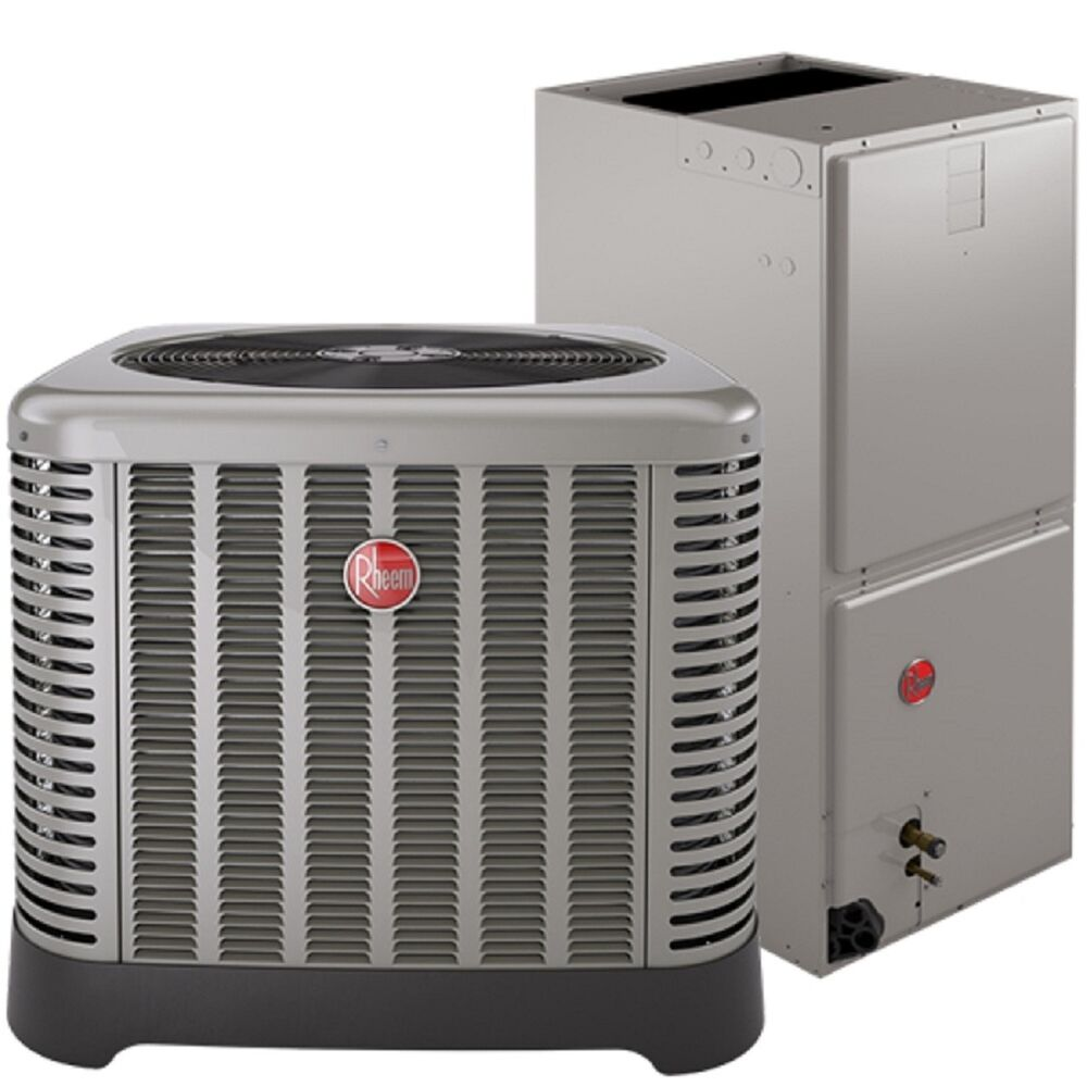 3 Ton Air Conditioning : Rheem ton air conditioning condensing unit and