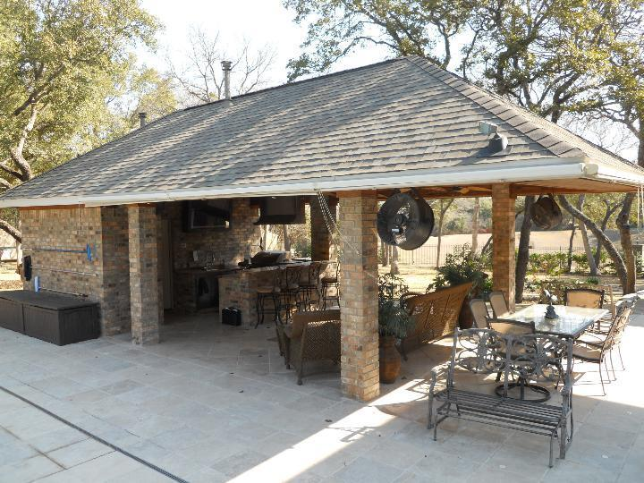 Pool House Cabana Plans: Outdoor BBQ Kitchen Bar / Cabana / Pool House / Bathroom