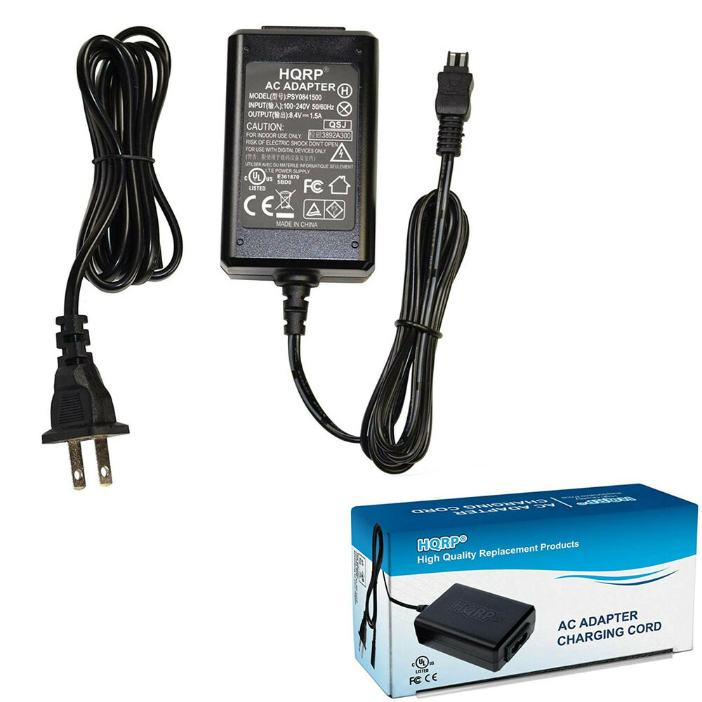 Hqrp Ac Adapter Charger For Sony Handycam Dcr Sr42a Dcr