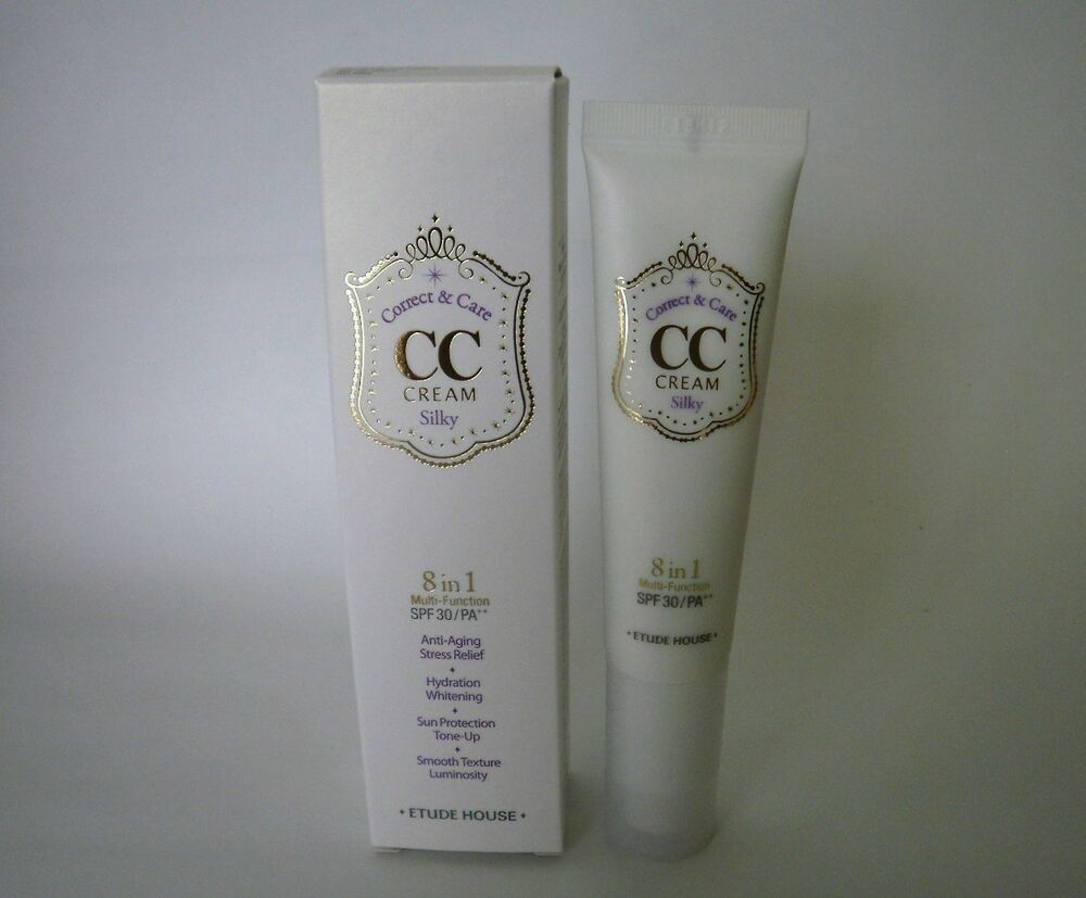 Cc cream etude house silky