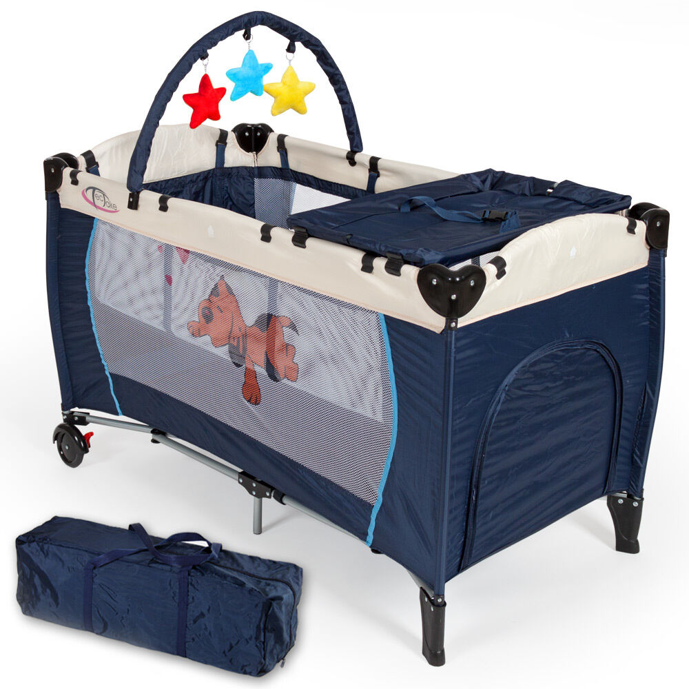 New Portable Child Baby Travel Cot Bed Playpen with ...