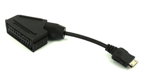lg led tv scart adaptor adapter cable lead ebay. Black Bedroom Furniture Sets. Home Design Ideas