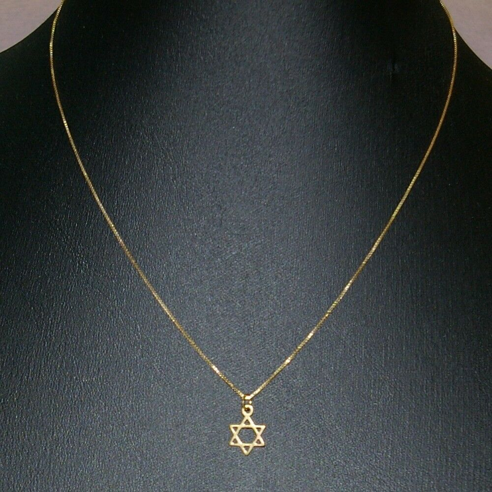 14kt gold filled small star of david charm pendant with for Star of david jewelry wholesale