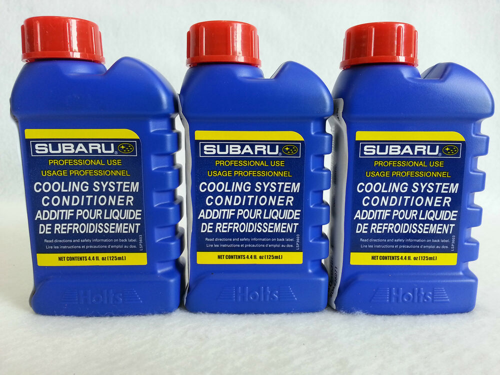 Subaru Engine Coolant : New subaru engine coolant additive cooling system